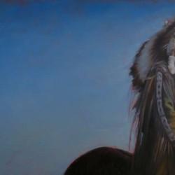 Chief Thomas White Eagle 24″ X 40″
